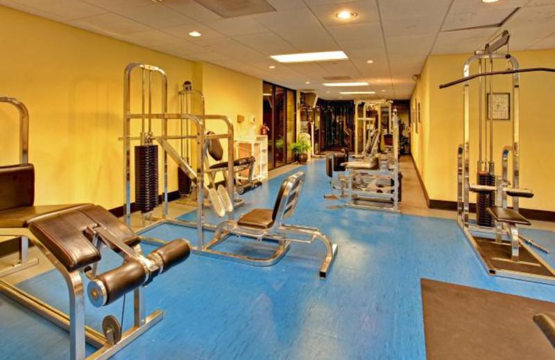 Fitness Center at Wyndham San Diego Bayside