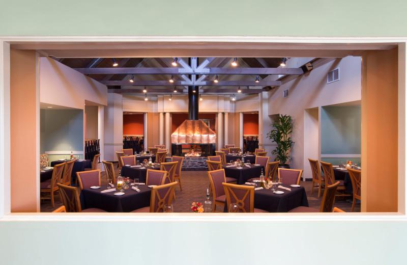 Dining at Wintergreen Resort.