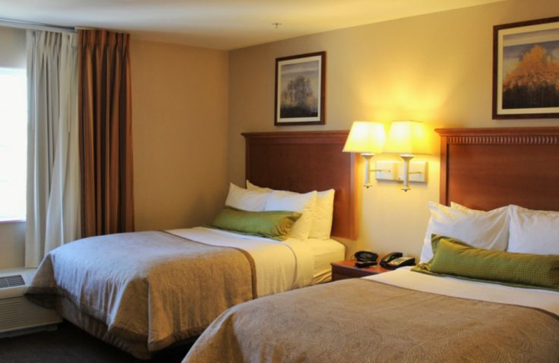 Guest room at Candlewood Suites YUMA.