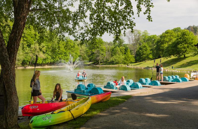 Lake at Oglebay Resort and Conference Center.
