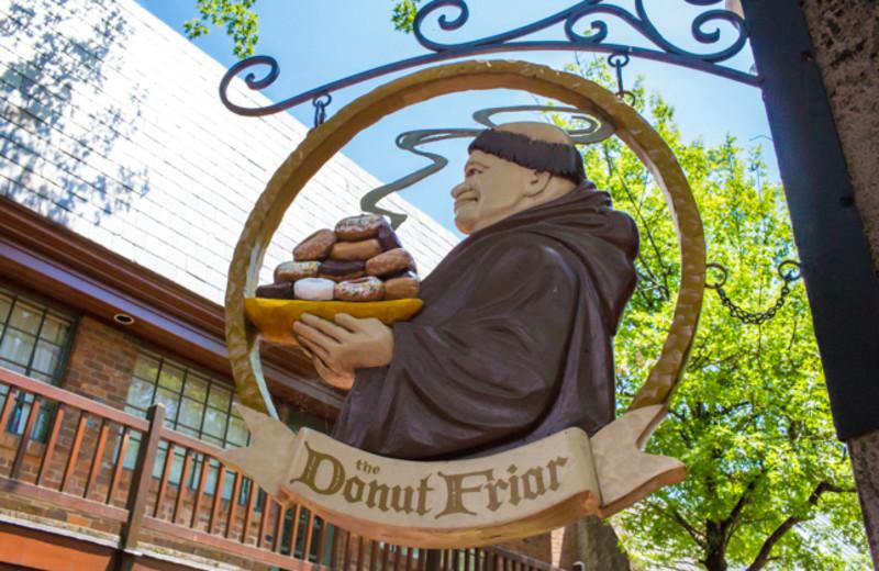The Donut Friar near SmokyMountains.com.