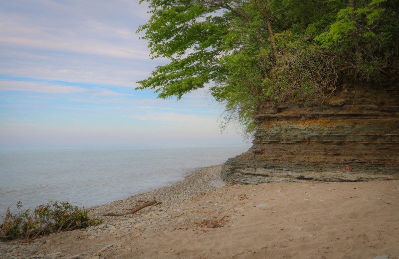 Lake Erie Bluffs near Holiday Inn Express & Suites Madison.