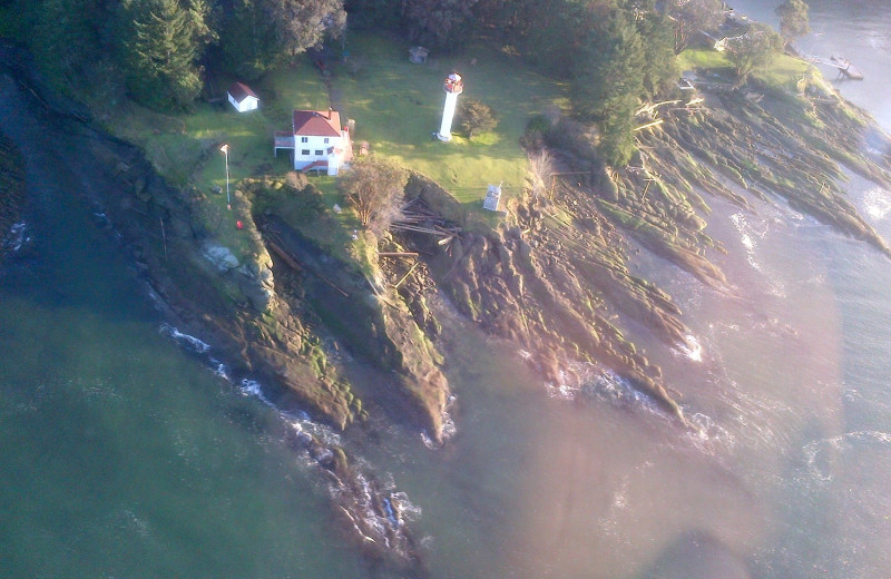 Aerial view of Blue Vista Resort.