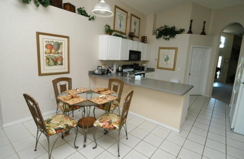 Vacation rental interior at Elite Vacation Homes.