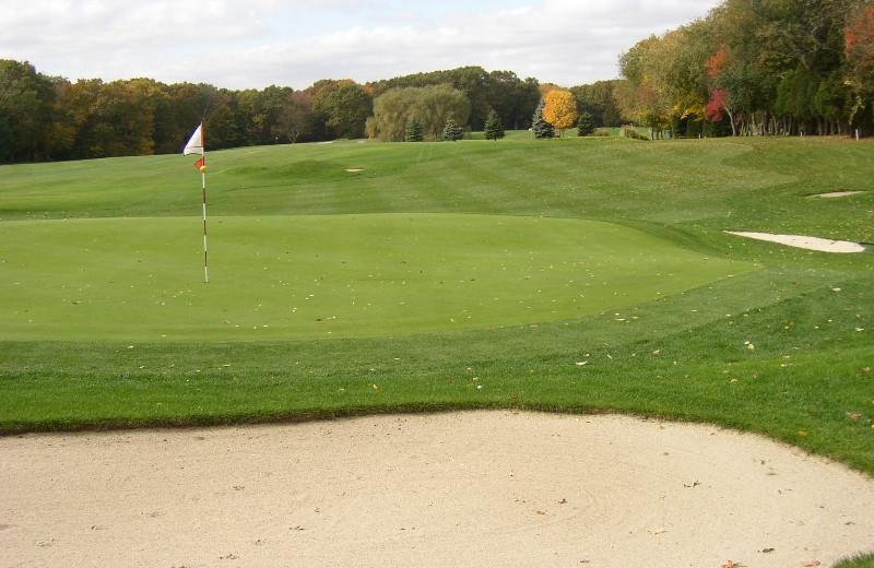 Golf course near The Spa at Norwich Inn.
