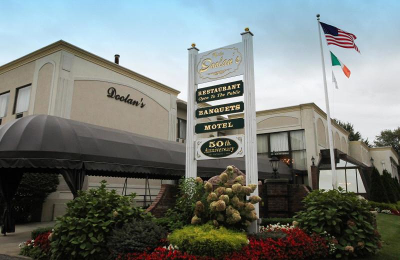 Exterior view of Doolan's Shore Club.