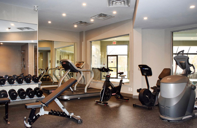 Fitness room at Hockley Valley.