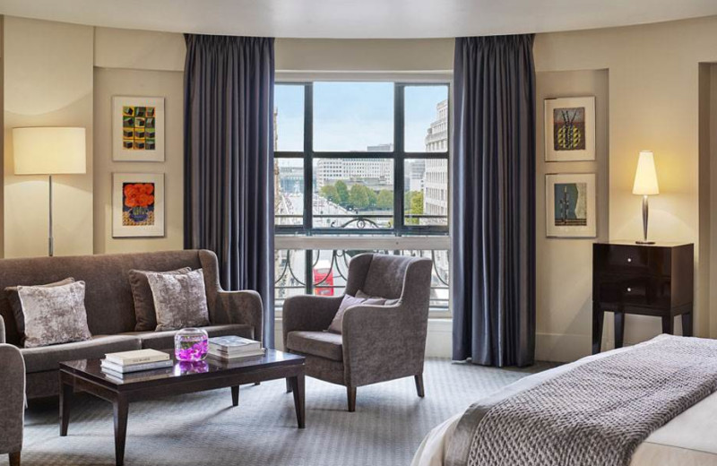 Guest room at One Aldwych.