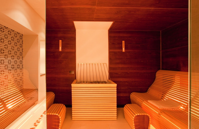 Sauna at Steigenberger Drei Mohren.