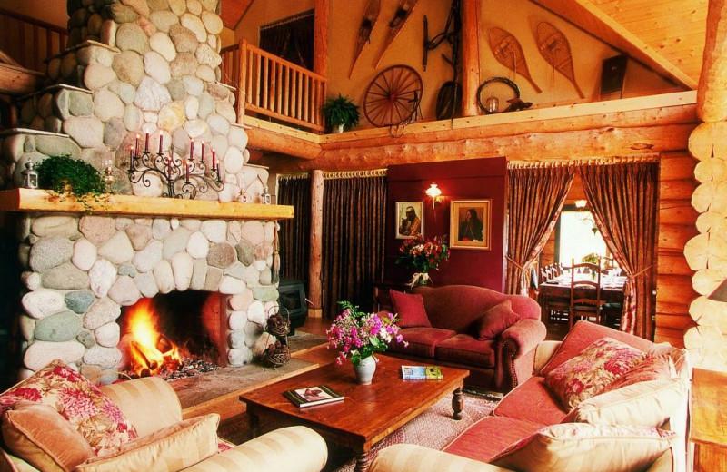 Suite Living Room at Siwash Lake Ranch