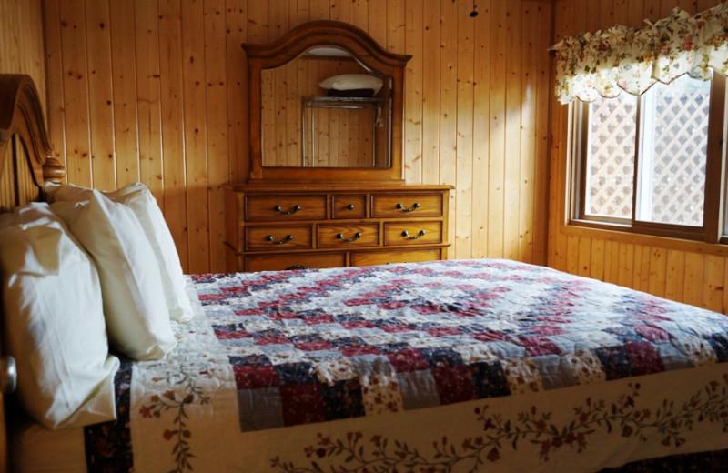 Suite bedroom at Contessa Resort.