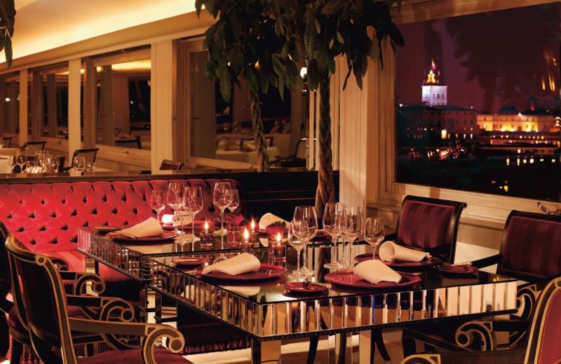 Dining at Hotel Hassler Villa Medici.