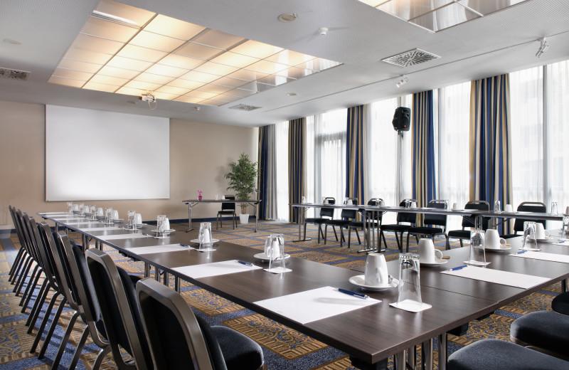 Conference room at Wyndham Grand Salzburg Conference Center.