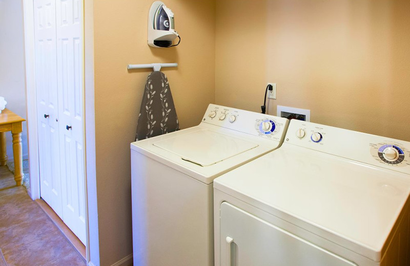Laundry room at Beaver Brook on the River.