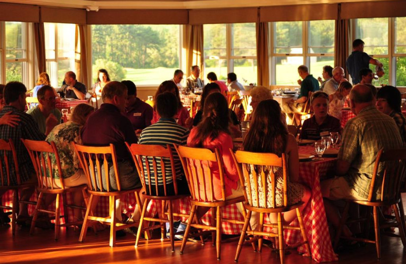 Family reunions at Sebasco Harbor Resort.