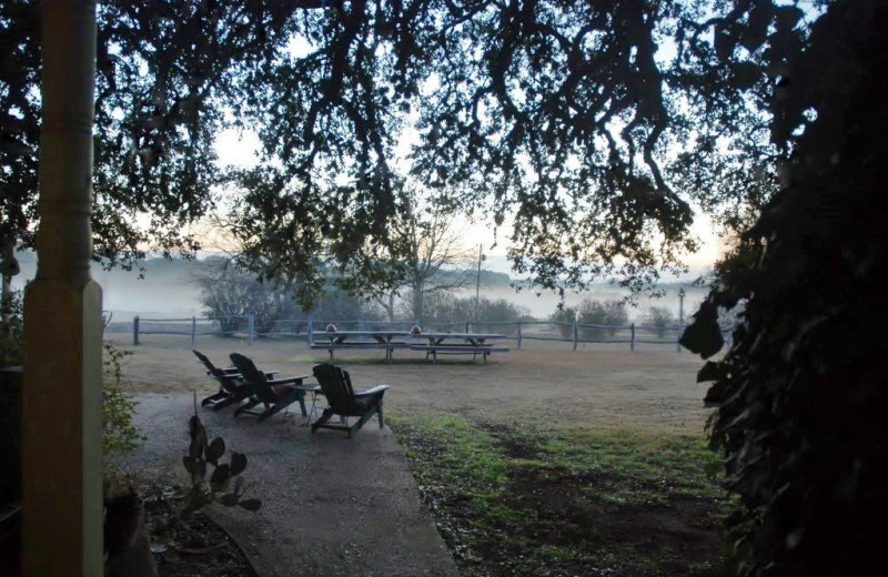 Scenic view at Fredericksburg Ranch.