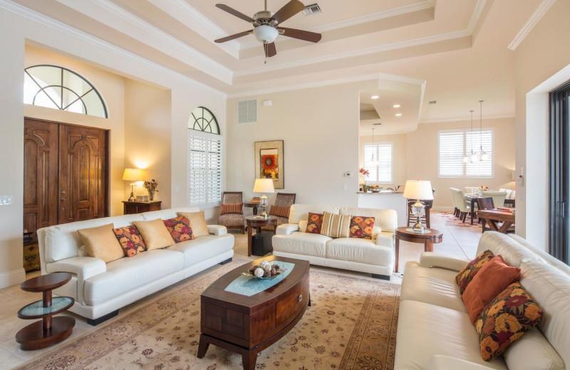 Rental living room at CNE Vacation Rental.