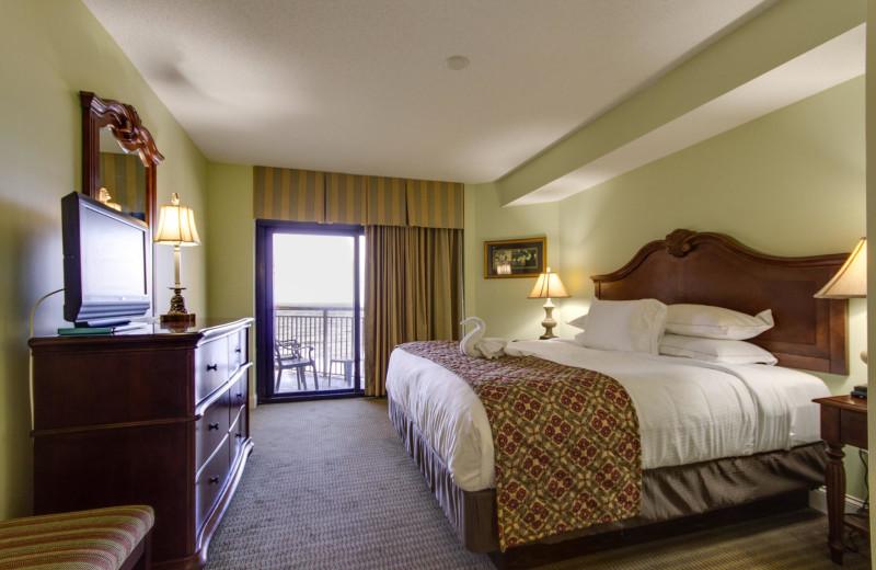 Guest room at Anderson Ocean Club.