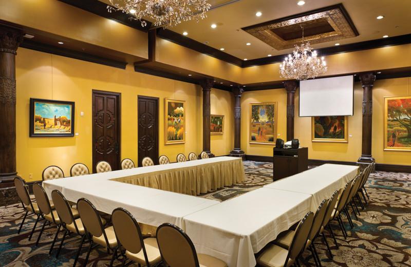 Meetings at El Monte Sagrado.