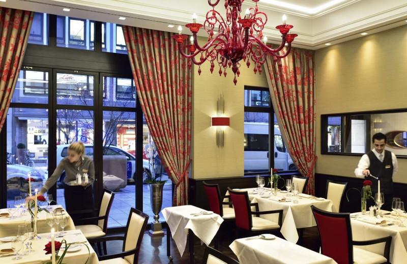 Dining at Kastens Hotel Luisenhof.