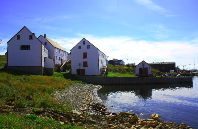 Exterior view of The Harbour Quarters Inn.