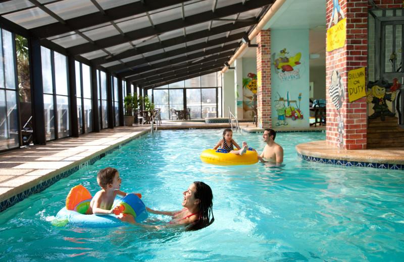Indoor pool at Caribbean Resort & Villas.