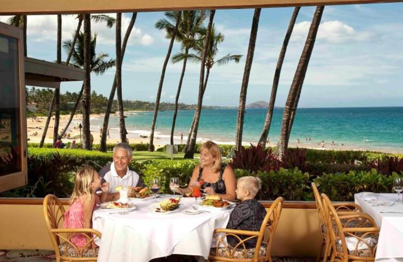 Family dining at Mana Kai Maui.