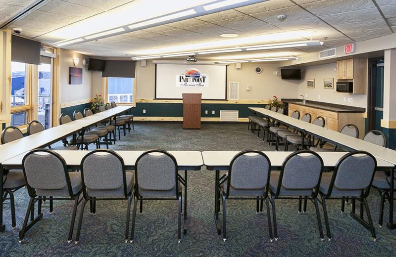 Lake Superior Conference Center: U-shape set up