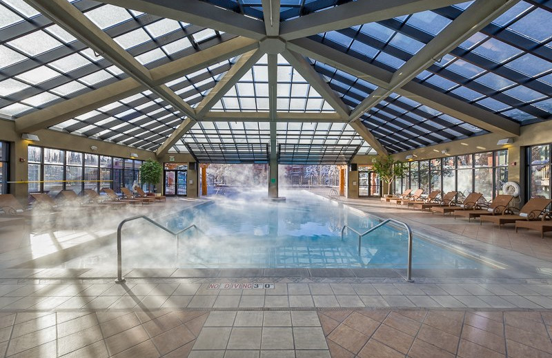 Indoor pool at Westgate Park City Resort & Spa.