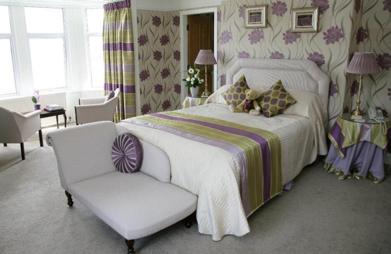 Guest room at Balcary Bay.