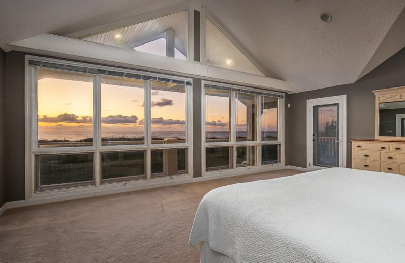 Rental bedroom at Tybee Vacation Rentals.