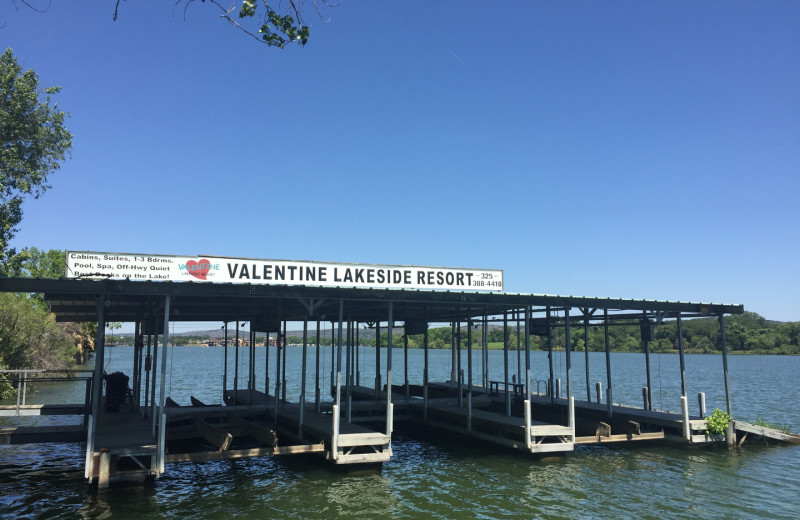 Rent a slip for your boat or personal water craft at Valentine Lakeside.