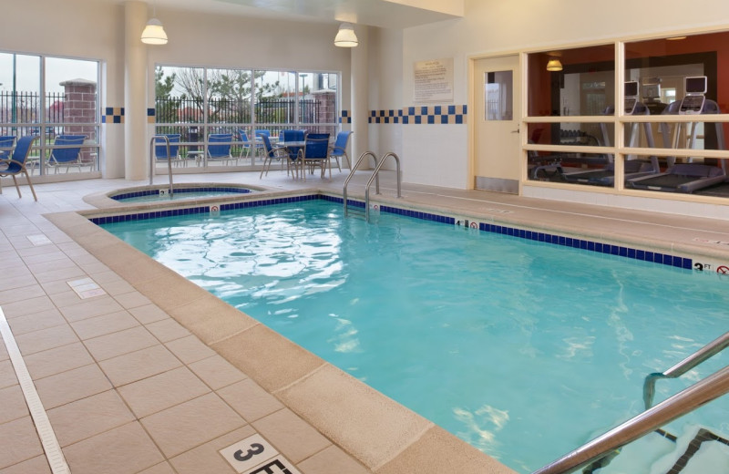 Indoor pool at Hilton Garden Inn Independence.