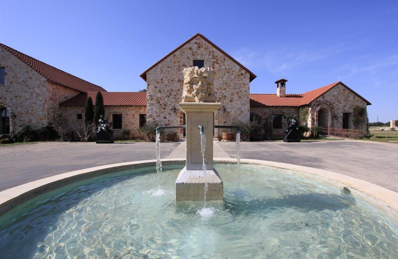 Fountain at The Vineyard at Florence.