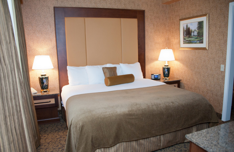 King Suite at Heritage Hills Golf Resort.
