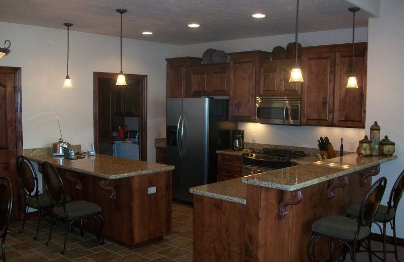 Rental kitchen at Sunetha Property Management.