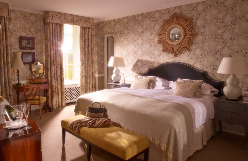 Guest room at Chewton Glen.