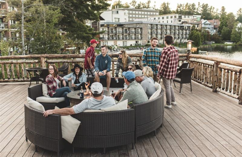 Group at Golden Arrow Lakeside Resort.