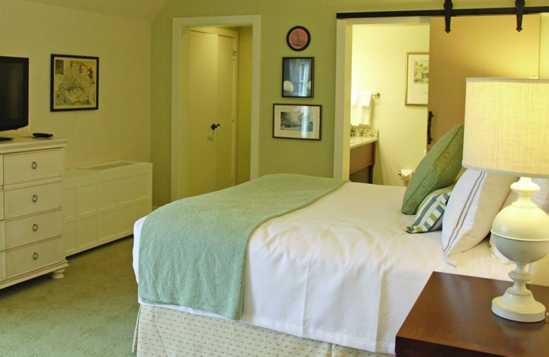 Guest room at Boar's Head Resort.