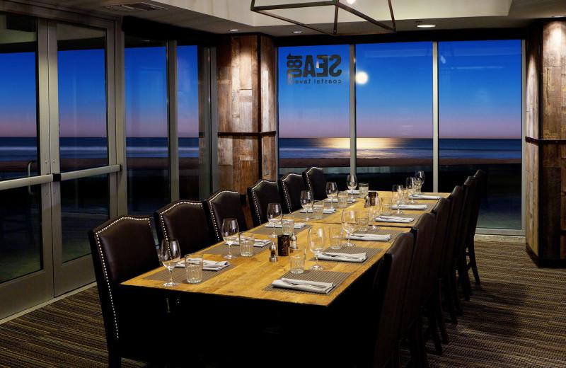Meeting room at Pier South Resort.