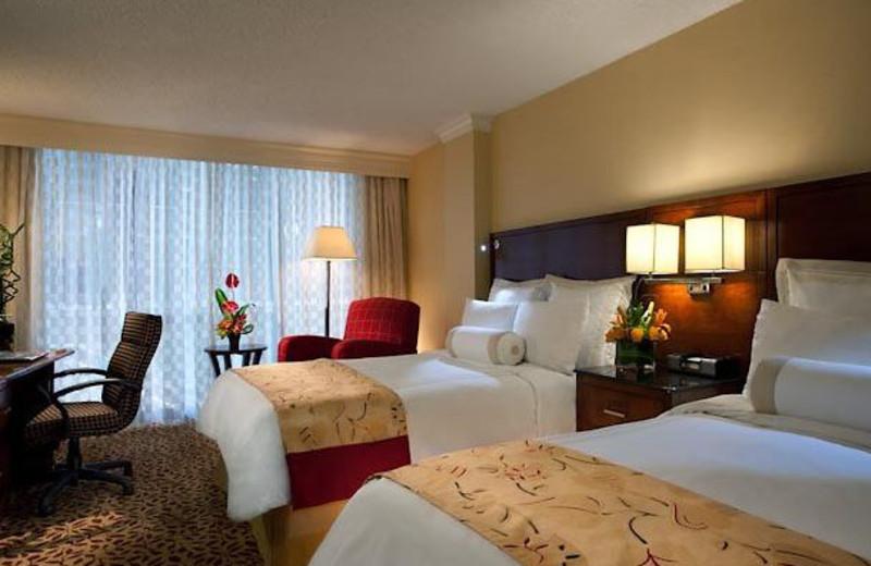 Guest Suite at the Houston Marriott West Loop