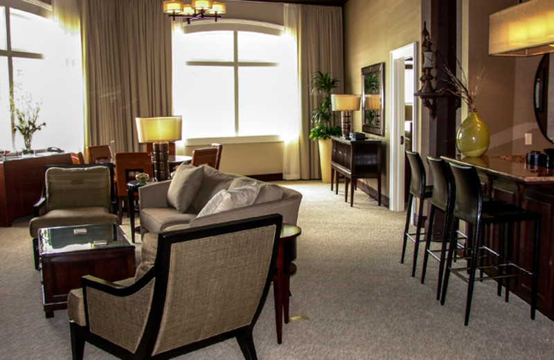 Specialty suites at French Lick Resort.