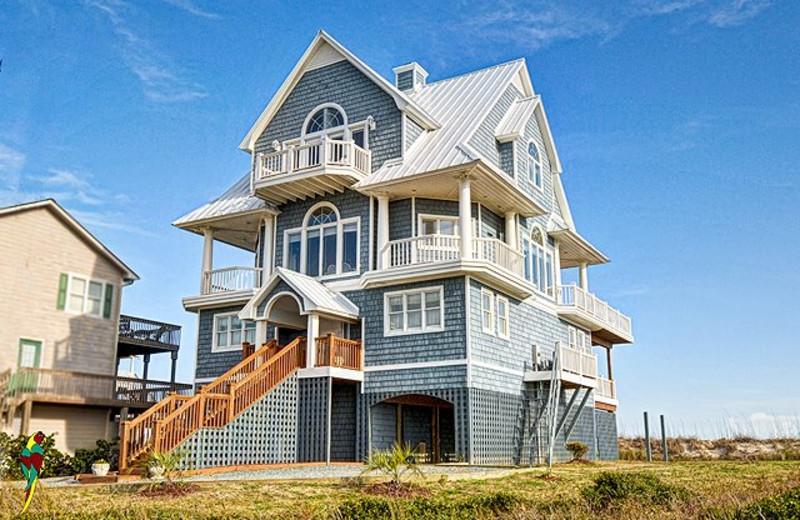 Rental exterior at Treasure Realty.