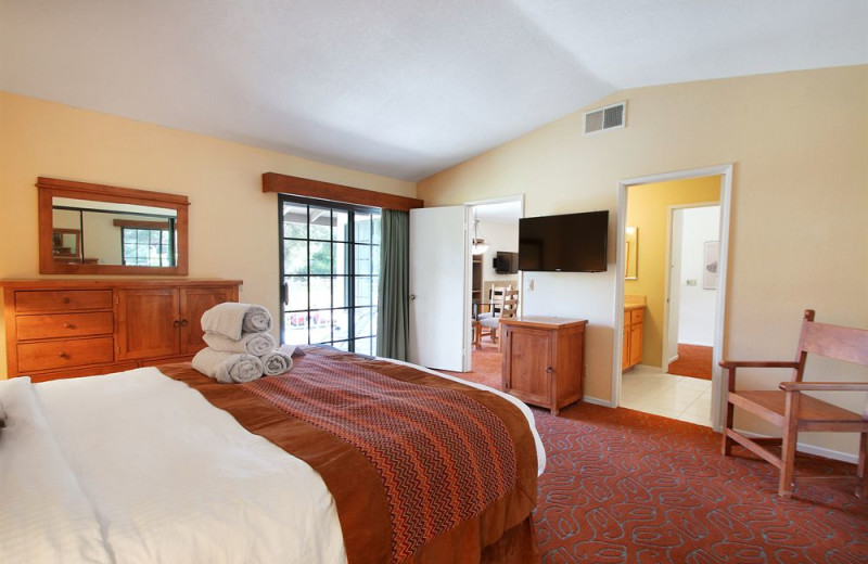 Guest room at Riviera Oaks Resorts.