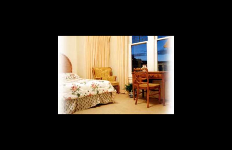 Guest room at Moffatt House Reservations.