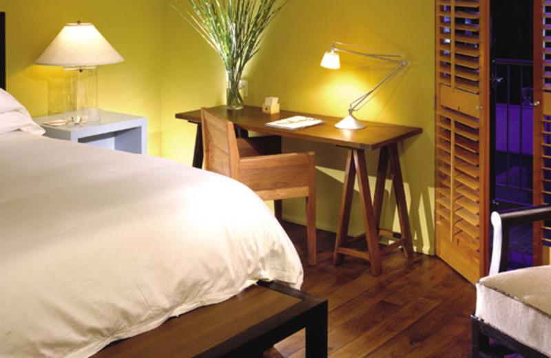 Guest room at Hotel Healdsburg.