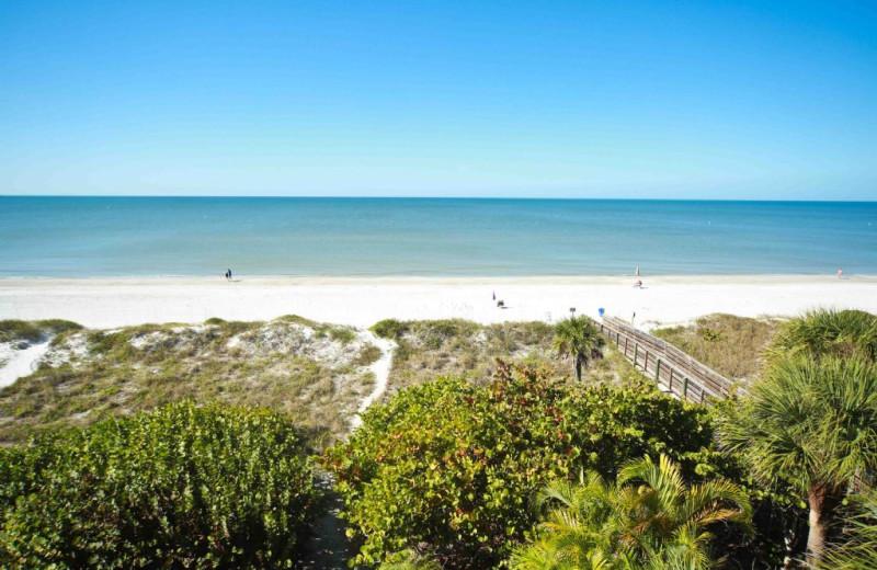 Beach at Plumlee Gulf Beach Realty.