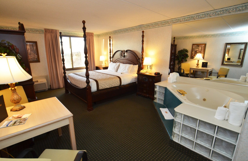 Guest suite at the Olympia Resort: Hotel, Spa and Conference Center.