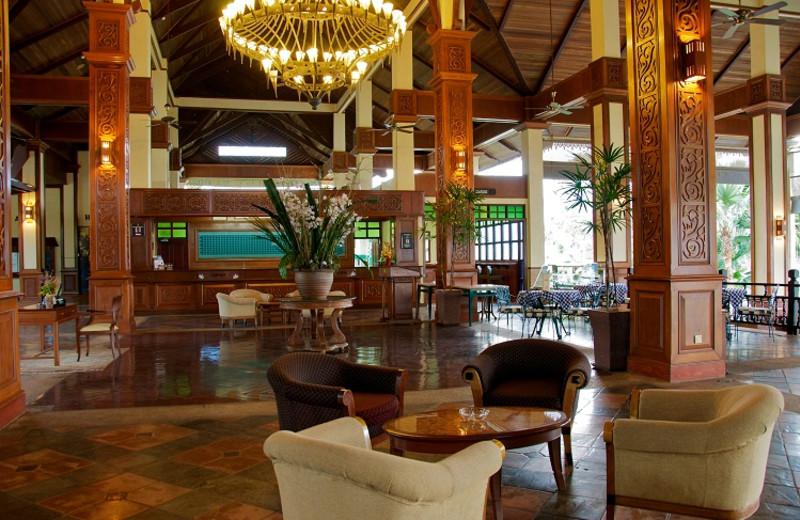 Lounge at Tasik Kenyir Golf Resort.