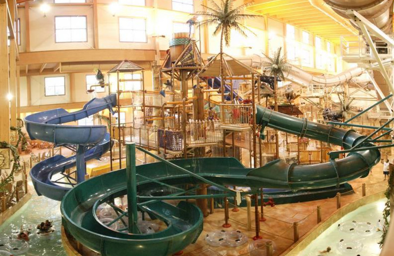 Lost Rios Indoor and Outdoor Waterpark near Birchcliff Resort.